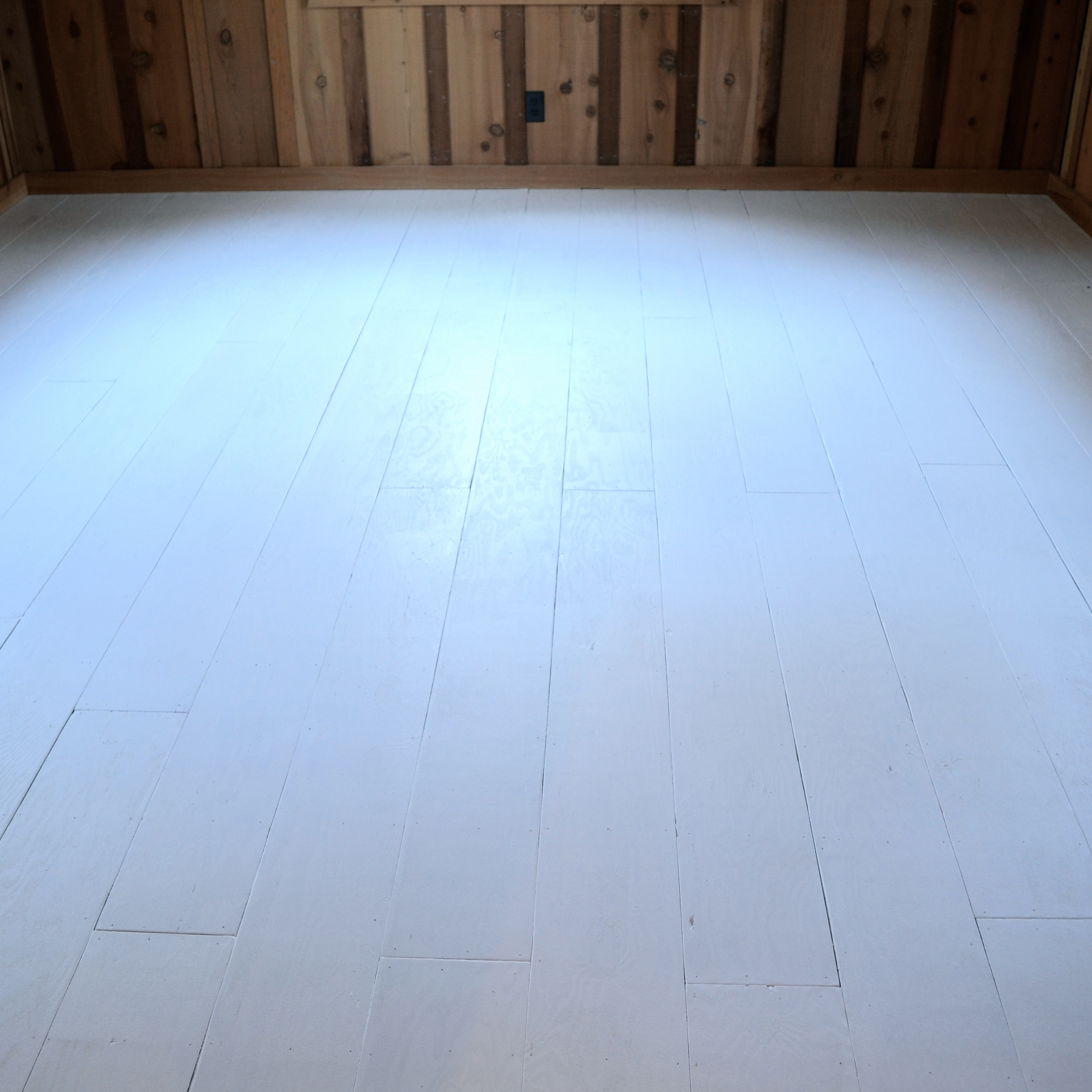 HOW TO CREATE BEAUTIFUL PLANK FLOORING OUT OF PLYWOOD - After Orange ...