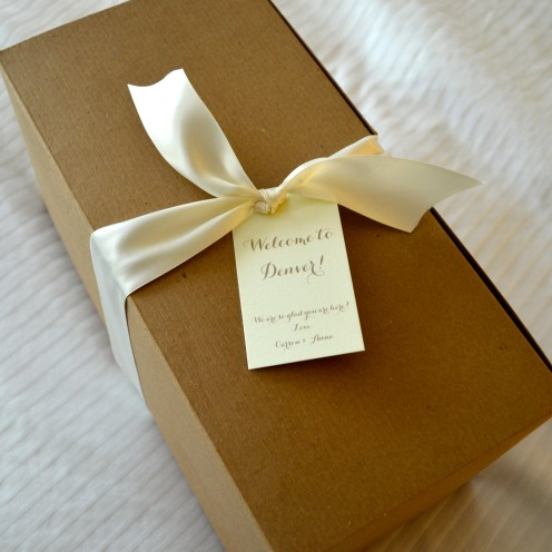 A WONDERFUL WEDDING WEEKEND | #Wedding #Welcome #Gift| www.AfterOrangeCounty.com