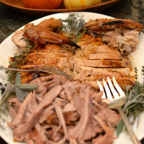 Super Moist and Delicious Brine-Cured Roast Turkey | Recipe Tutorial at www.AfterOrangeCounty.com