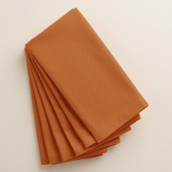 Buffet Napkins | World Market | Set of 6 | $9.99 | www.AfterOrangeCounty.com