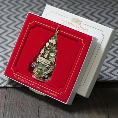 2015 White House Historical Society Christmas Ornament | www.AfterOrangeCounty.com