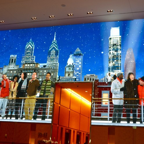 SEASONS GREETINGS from Philly and The Comcast Center| www.AfterOrangeCounty.com