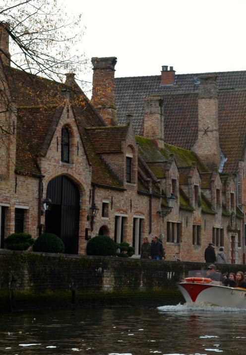 A POSTCARD FROM BRUGGE BELGIUM