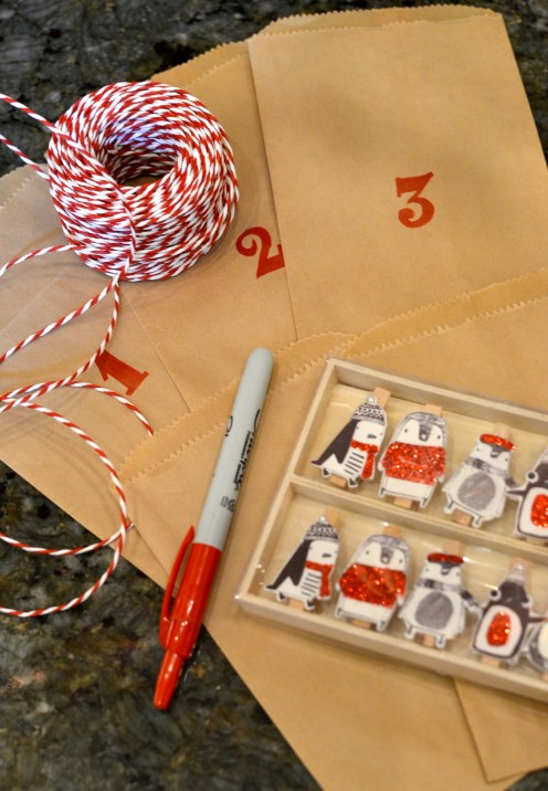 HOW I MADE A CUTE ADVENT CALENDAR | www.AfterOrangeCounty.com