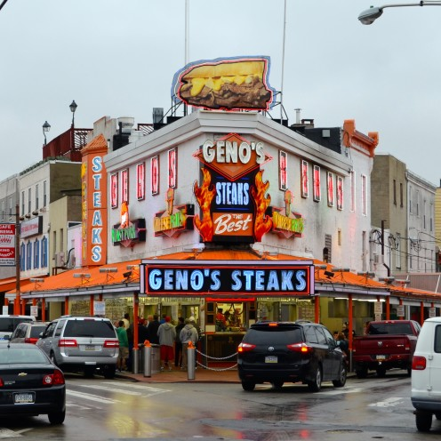 A VISIT TO THE MARVELOUS ITALIAN MARKET IN PHILLY | Geno's Philly Cheesesteaks | www.AfterOrangeCounty.co