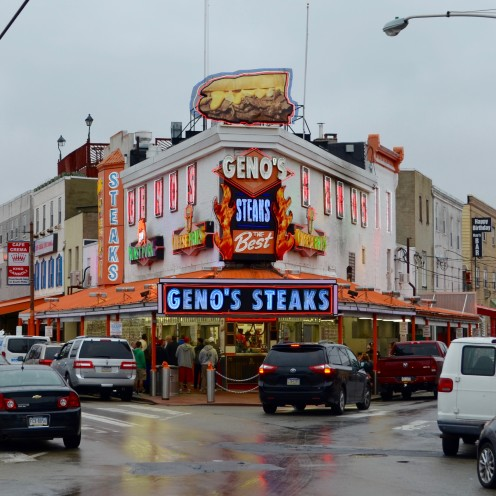 A POSTCARD FROM PHILADELPHIA | Philly Cheesesteaks at Geno's | www.AfterOrangeCounty.com