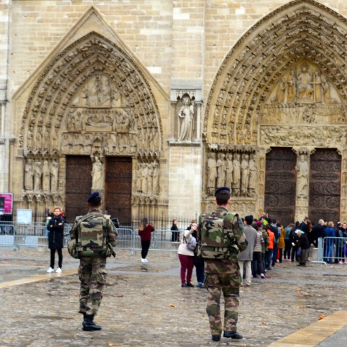 Notre Dame Cathedral, Paris, just days after terrorist attack | www.AfterOrangeCounty.com