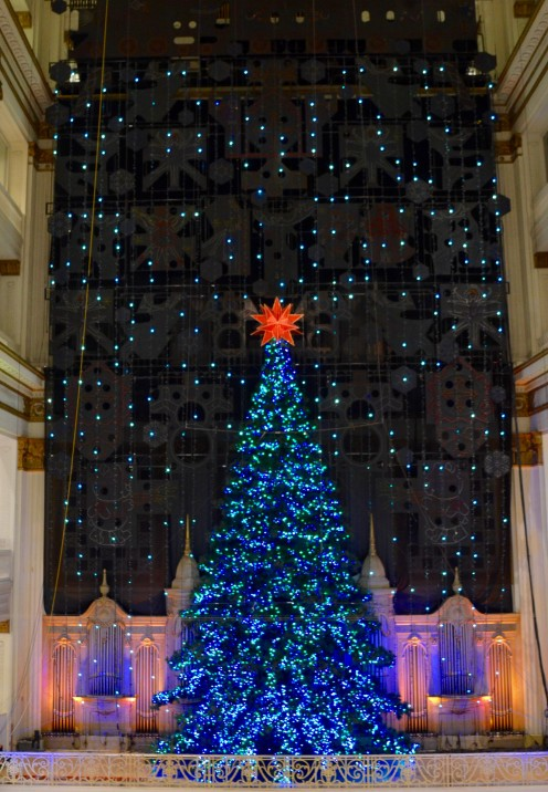 SEASONS GREETINGS from Philly|Holiday Light Show at Macy's | www.AfterOrnageCounty.com
