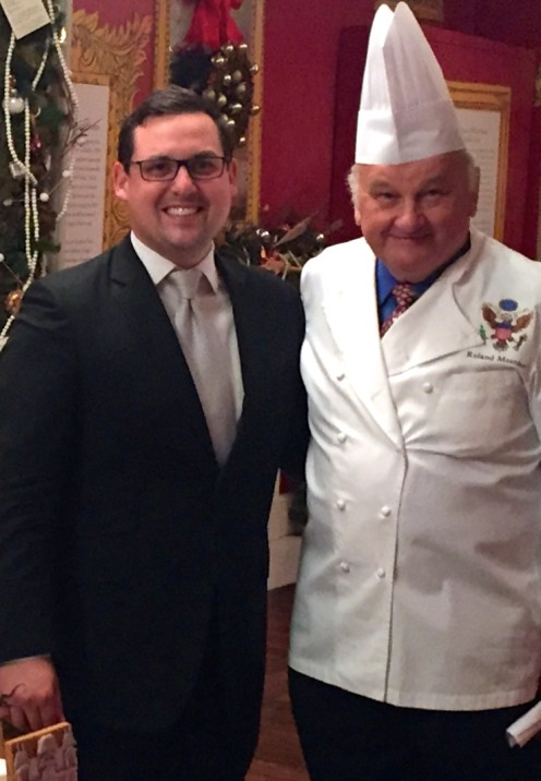THIS AND THAT AND AN INVITATION TO THE WHITE HOUSE | The White House Historical Association Christmas Party Invitation 2015 | Nathan Imperiale CEO NJI Media with White House Chef | www.AfterOrangeCounty.com