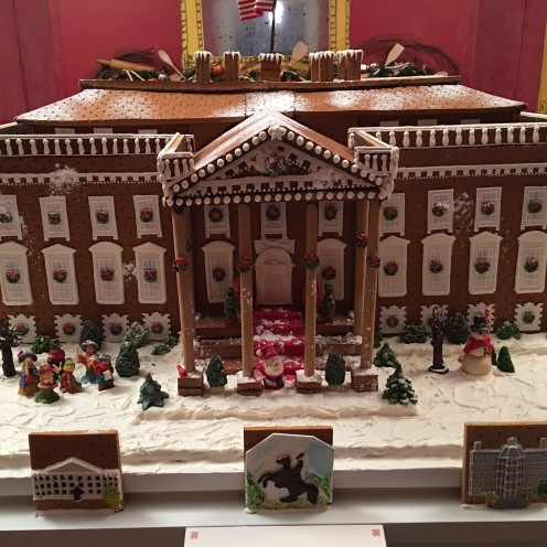 THIS AND THAT AND AN INVITATION TO THE WHITE HOUSE | White House Gingerbread House | White House Historical Association Christmas Party 2015 | www.AfterOrangeCounty.com