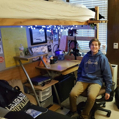 THIS THAT AND THE OTHER THING | My Son In His Dorm Room| www.AfterOrangeCounty.com