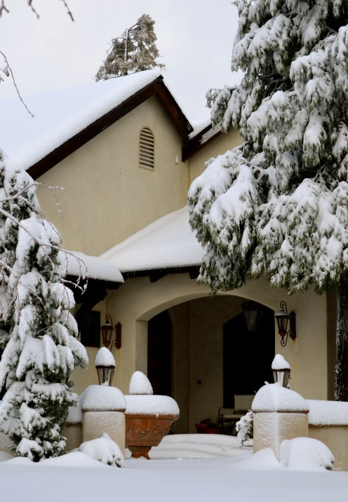 BEAUTIFUL WINTER WONDERLAND | Winter in Lake Arrowhead, California | www.AfterOrangeCounty.com