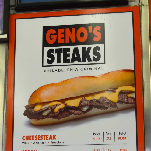A PHILLY CHEESESTEAK THROWDOWN | Geno's Philly Cheesesteaks | www.AfterOrangeCounty.com