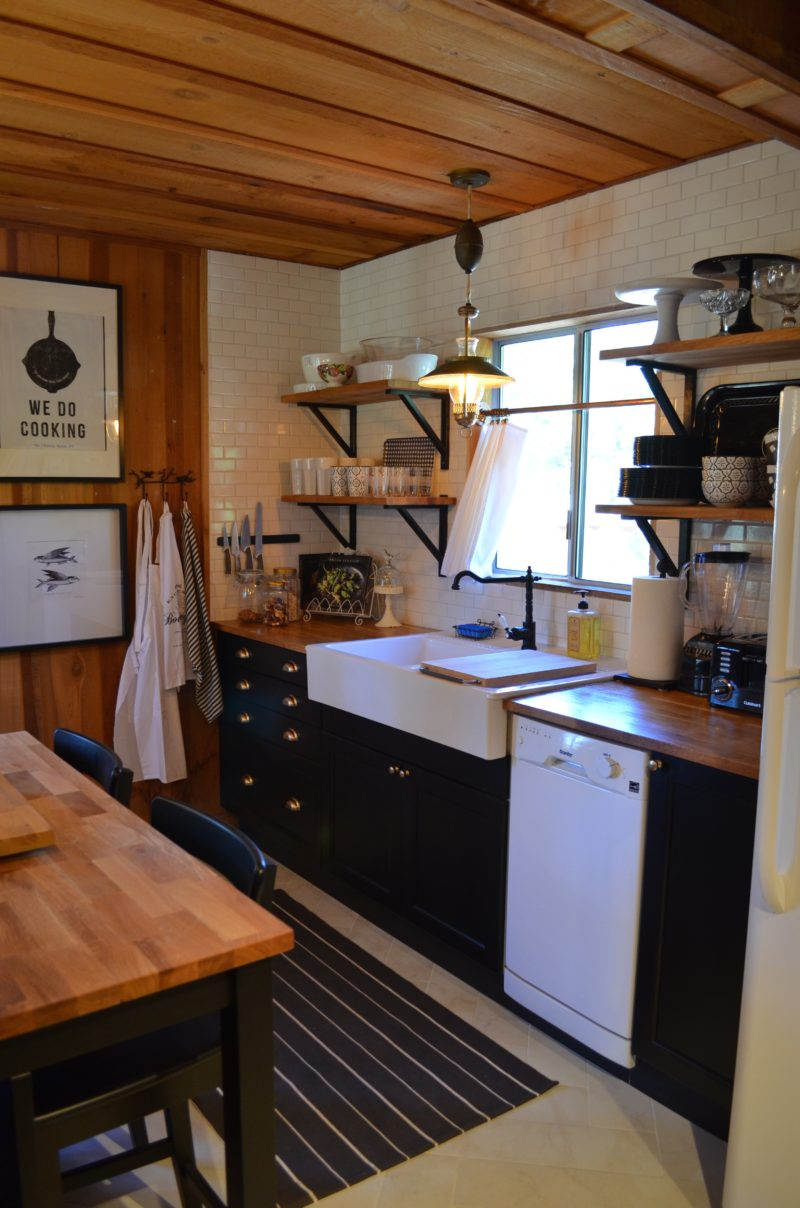 My log cabin kitchen renovation after orange county Small cottage renovation ideas