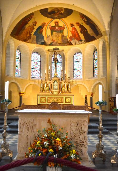 A WALKING TOUR OF KOBLENZ GERMANY   Basilica of St. Castor   www.AfterOrangeCounty.com