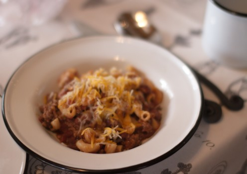 MAC AND CHEESE CHILI RECIPE | Stone Hill Cottage VRBO.com/804397 | www.AfterOrangeCounty.com