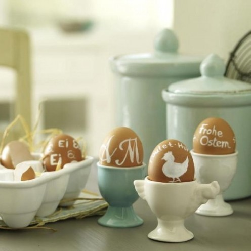20 TERRIFIC IDEAS FOR DECORATING EASTER EGGS | From Shelterness |www.AfterOrangeCounty.com