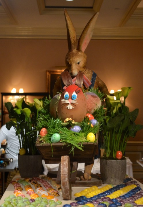 CELEBRATING EASTER AT THE LANGHAM HUNTINGTON HOTEL | Pasadena, CA | www.AfterOrangeCounty.com