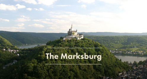 EXPLORE FASCINATING MARKSBURG CASTLE | Castles Along the Rhine | Germany | www.AfterOra