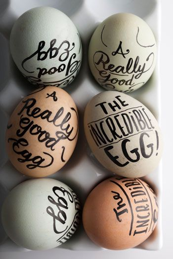 20 TERRIFIC IDEAS FOR DECORATING EASTER EGGS | From Bon Appetit |www.AfterOrangeCounty.com