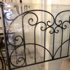 MY LATEST HAND FORGED WROUGHT IRON PROJECT | www.AfterOrangeCounty.com