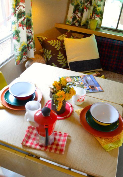 INSIDE A SUPER CUTE VINTAGE AIRSTREAM TRAILER | Sunset Celebration Weekend | www.AfterOrangeCounty.com