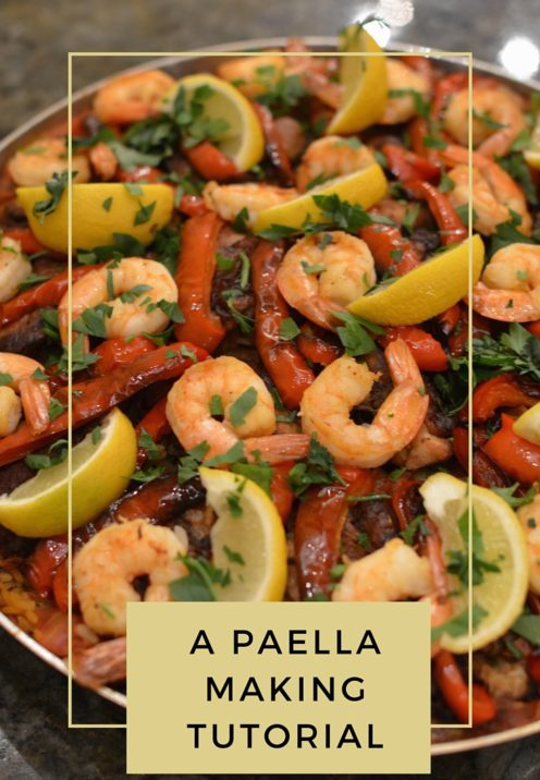A PAELLA MAKING TUTORIAL | www.AfterOrangeCounty.com
