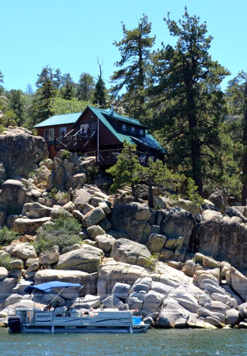 The lovely lakefront cabins of big bear after orange county for Big bear cabins lakefront