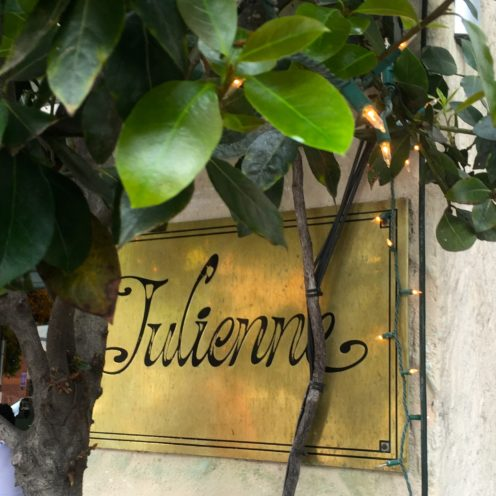 MY ABSOLUTE FAVORITE PLACE TO HAVE LUNCH | Julienne's | www.AfterOrangeCounty.com