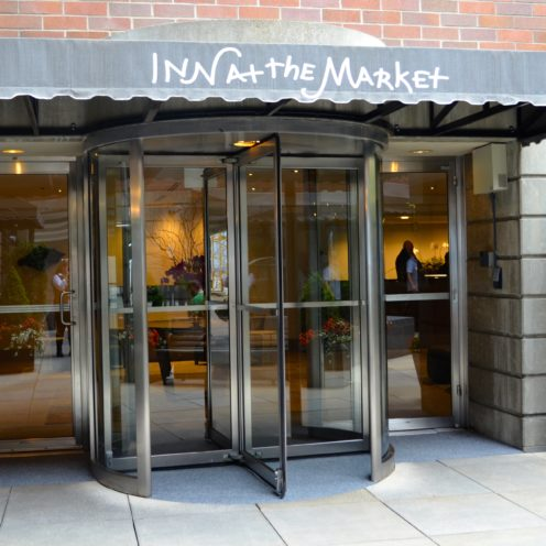 CHECKING INTO SEATTLE'S INN AT THE MARKET | www.AfterOrangeCounty.com
