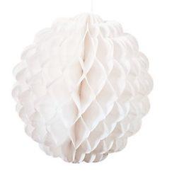 White Pom Poms from Oriental Trading | www.AfterOrangeCounty.com