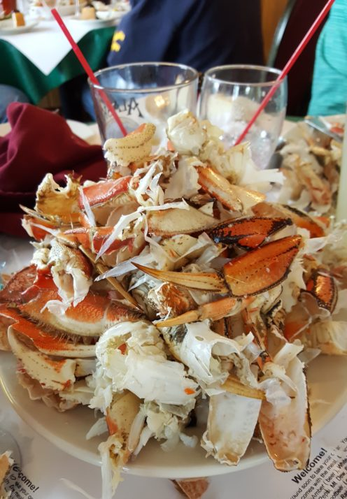 FEASTING ON CRAB AND EXPLORING A RAINFOREST IN KETCHIKAN | www.AfterOrangeCounty.com