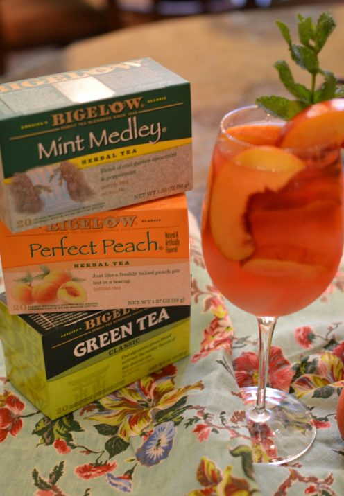 REFRESHING ICED TEA SANGRIA STYLE | #TeaProudly #CollectiveBias | www.AfterOrangeCounty.com