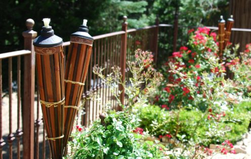 HOW TO HOST AN AMAZING BACKYARD LUAU | Tiki Brand Torches | www.AfterOrangeCounty.com