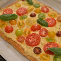 HEIRLOOM TOMATO TART| www.AfterOrangeCounty.com