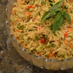 KITCHEN SINK ORZO PASTA SALAD | www.AfterOrangeCounty.com
