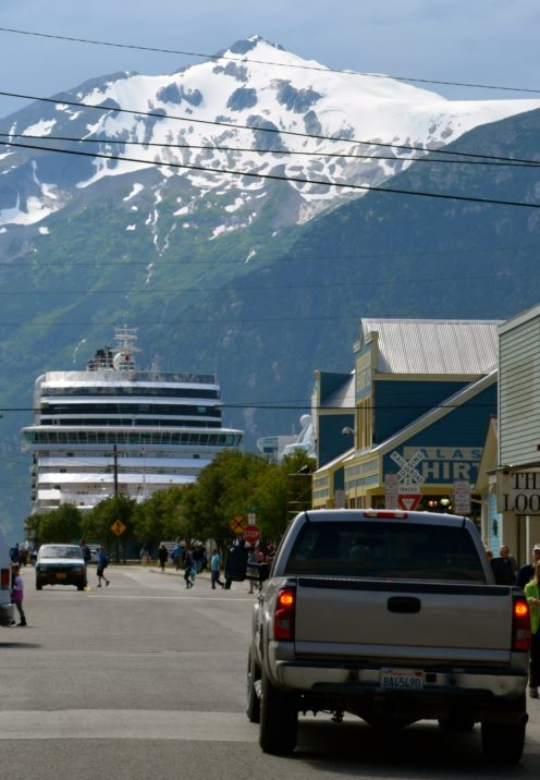 DROPPING ANCHOR IN SKAGWAY ALASKA | www.AfterOrangeCounty.com