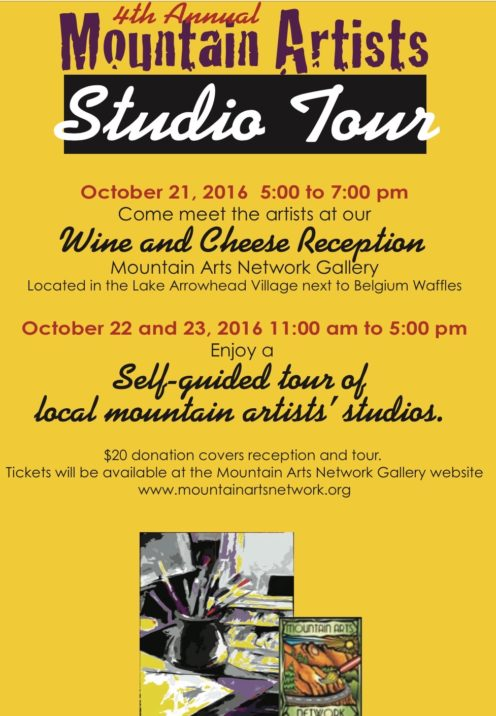 LAKE ARROWHEAD ARTISTS STUDIO TOUR | www.AfterOrangeCounty.com