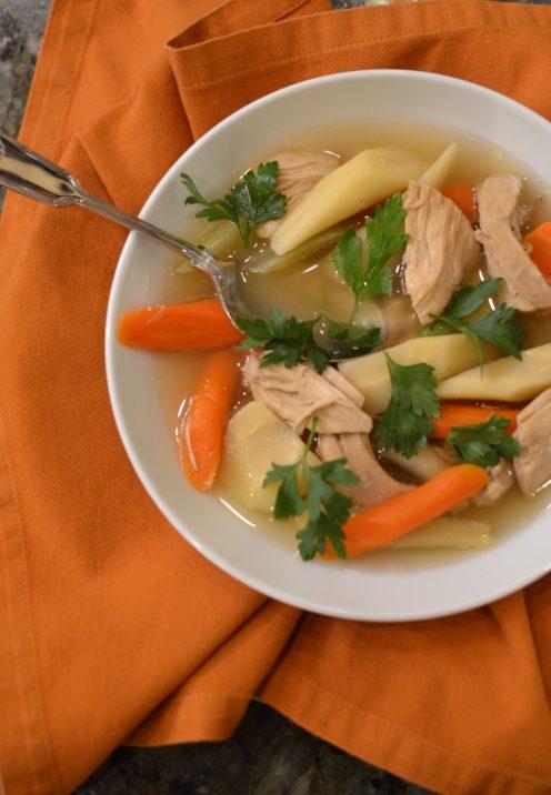 SUNDAYS WITH CELIA VOL 15 | Aunt Renee's Chicken Soup | www.AfterOrangeCounty.com