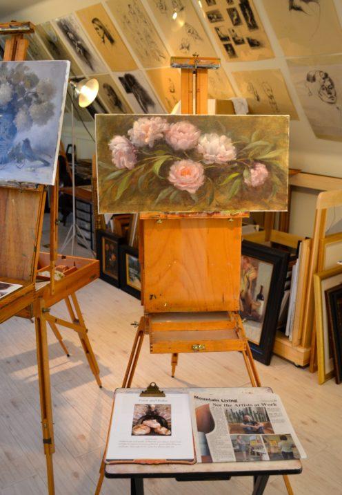 SUNDAYS WITH CELIA VOL 17 | Lake Arrowhead Mountain Arts Studio Tour | www.AfterOrangeCounty.com