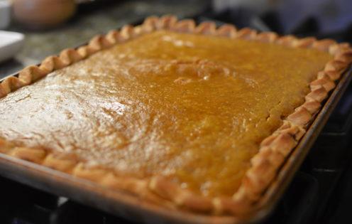 SUNDAYS WITH CELIA VOL 17   Pumpkin Slab Pie   www.AfterOrangeCounty.com