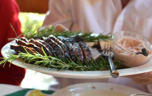DINING AT RED RABBIT FARM   Orcas Island   www.AfterOrangeCounty.com