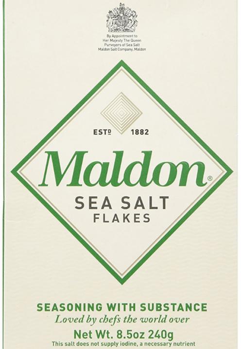SUNDAYS WITH CELIA VOL 17   Maldon Sea Salt   www.AfterOrangeCounty.com