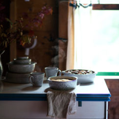 SUNDAYS WITH CELIA VOL 20 | Embossed Terra Cotta Serving Dish | www.AfterOrangeCounty.com