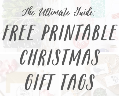 SUNDAYS WITH CELIA VOL 25 | Ultimate Guide to Free Printable Gift Tags | www.AfterOrangeCounty.com