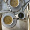 GOLDEN BELL PEPPER SOUP WITH BASIL OIL