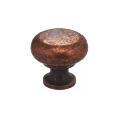 THE HOUSE ON COTTAGE GROVE KITCHEN RENO UPDATE | Vintage Copper Classic 1-1/4 Inch Diameter Mushroom Cabinet Knob | www.AfterOrangeCounty.com