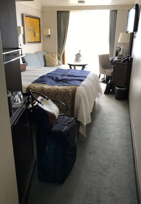 PENTHOUSE SUITE VS CONCIERGE VERANDA ABOARD OCEANIA'S RIVIERA | Concierge Veranda | www.AfterOrangeCounty.com