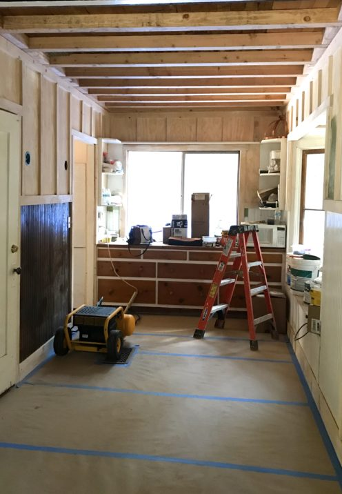 THE HOUSE ON COTTAGE GROVE RENO UPDATE | Mountain Cottage Dining Room Renovation | www.AfterOrangeCounty.com