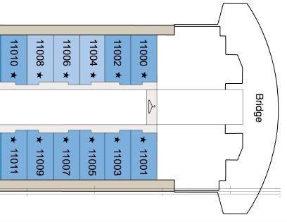 PENTHOUSE SUITE VS CONCIERGE VERANDA ABOARD OCEANIA'S RIVIERA | Penthouse Suite | www.AfterOrangeCounty.com